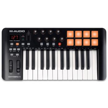 M AUDIO OXYGEN 25 IV Teclado Controlador USB/MIDI 25 Teclas *