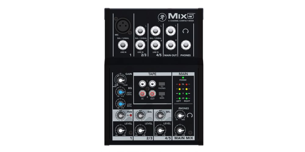 Mackie Mix5 2