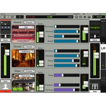 MACKIE DL32R Mezclador Digital Inalambrico iPad