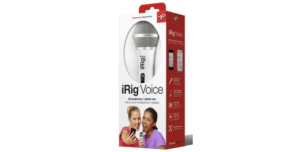 ik multimedia irig voice blanco pack