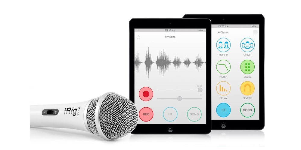 ik multimedia irig voice blanco