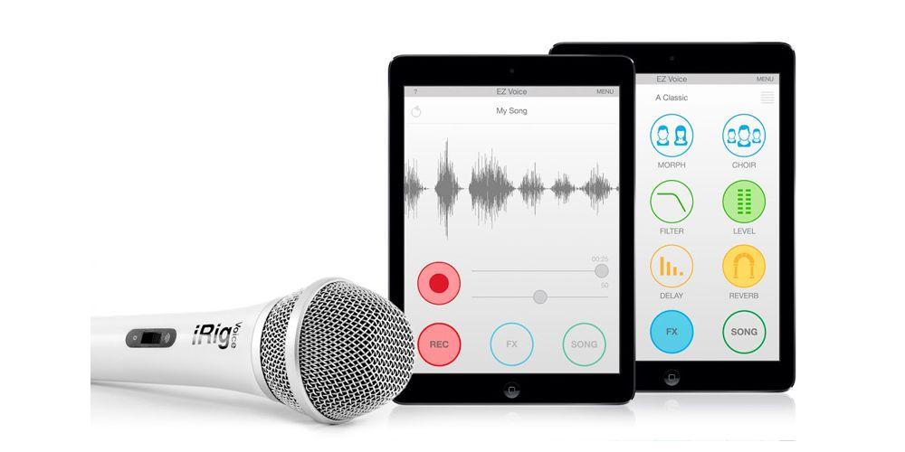 ik multimedia irig voice blanco