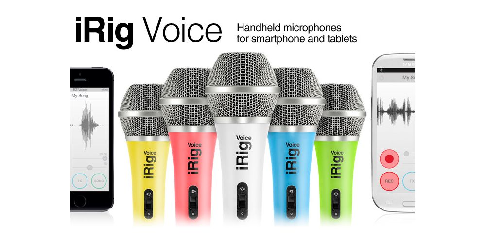 ik multimedia irig voice colors
