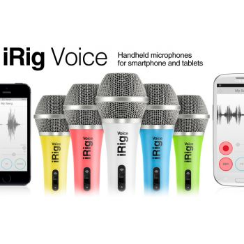 Ik Multimedia IRIG VOICE, White