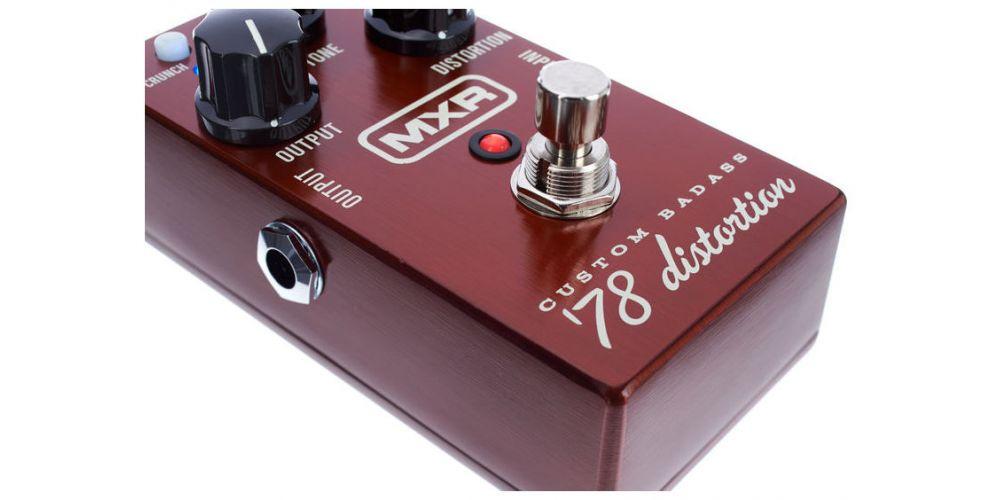dunlop mxr m78 custom badass 78 distortion push