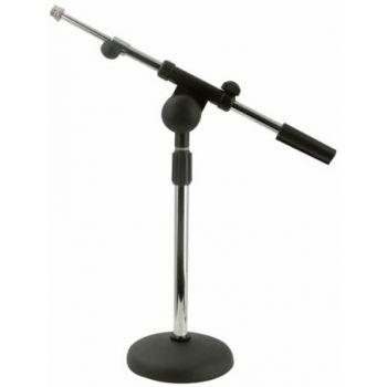 DAP Audio Soporte de microfono de sobremesa con brazo telescopico D8204C