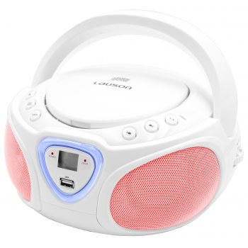 Lauson CP451 Radio CD Bluetoot led Blanco