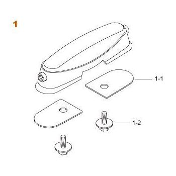 Tama MSL35 Fijación para caja SC145 / Artwood 5