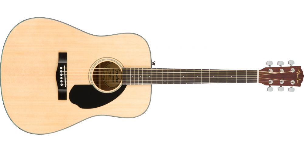 fender cd60 s natural acustica guitarra