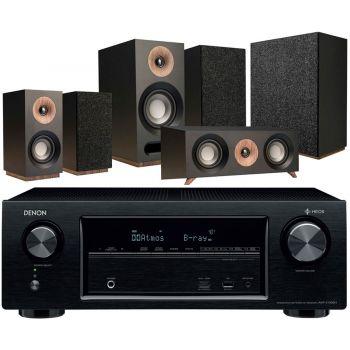 DENON AVR-X1400H+Jamo S803 HCS+S808 SUB Black