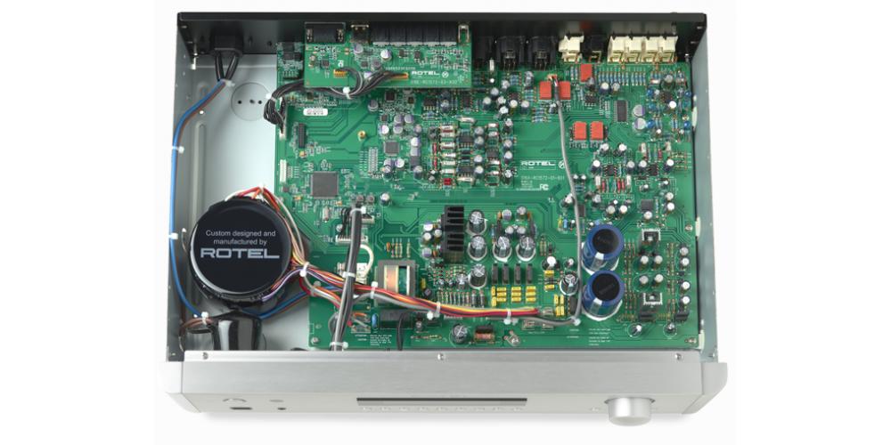 rotel rc1572 fabricacion componentes