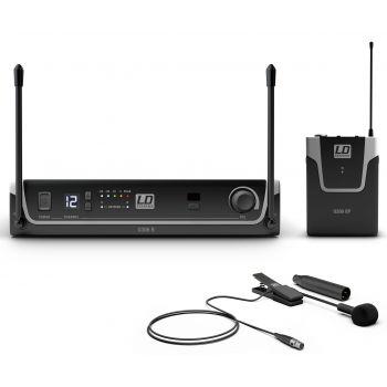 LD Systems U306 BPW Sistema inalámbrico con Petaca y Micrófono clip para Instrumentos de Viento
