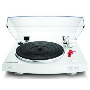 AUDIO TECHNICA AT-LP3 Blanco. Giradiscos Plato HiFi
