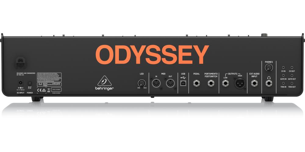 behringer ODYSSEY Sintetizador conexiones