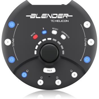 TC helicon BLENDER Mezclador 12 x 8 Stereo