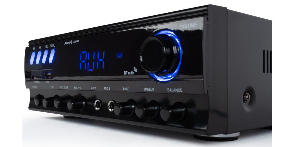 amplificador bluetooth audibax con entrada micro