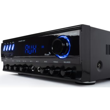 Equipo HiFi Audibax ZERO 500 + Altavoces Estantería Denon SCN10 BK