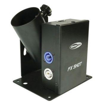 Showtec FX Shot MK2 Máquina de Confetti 60906  Disparador Eléctrico
