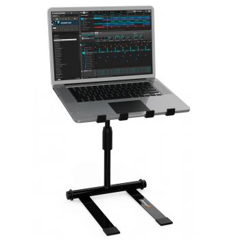 Audibax TOP-30 Soporte Laptop Dj Profesional Plegable con Bolsa