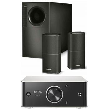 DENON PMA-30+Bose AM5V Conjunto de audio