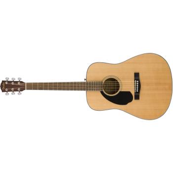 Fender CD-60S Dreadnought WN Natural LH