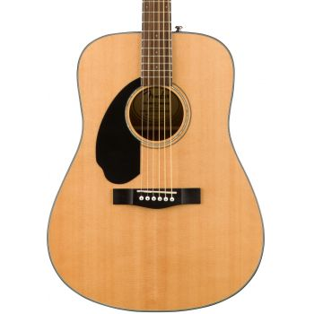 Fender CD-60S Dreadnought WN Natural LH. Guitarra Acústica para Zurdos