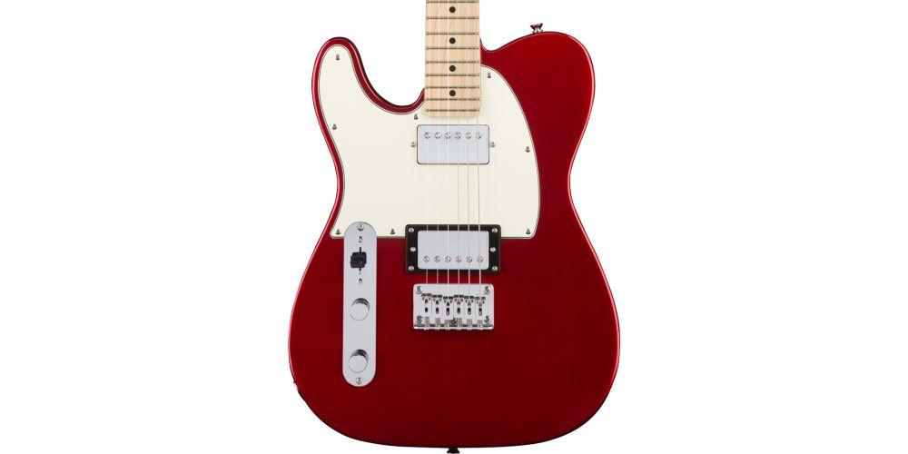 fender squier contemporary telecaster hh lh mn dark metallic red zurdos
