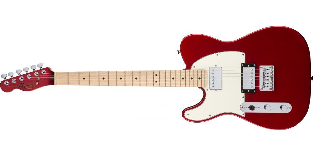 fender squier contemporary telecaster hh lh mn dark metallic red