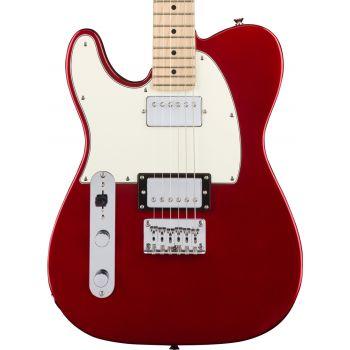 Fender Squier Contemporary Telecaster HH LH MN Dark Metallic Red Guitarra Zurdos
