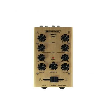 Omnitronic GNOME-202 Gold Mini Mezclador Dorado