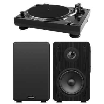 Music Hall USB1 Giradiscos+ Altavoces Bluetooth Audibax Beta1BT Conjunto de Audio