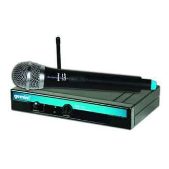 GEMINI UHF-116M Micrófono inalámbrico Mano UHF con pll  UHF116M