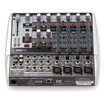 BEHRINGER Q1202USB XENYX Mezclador USB de 12 canales