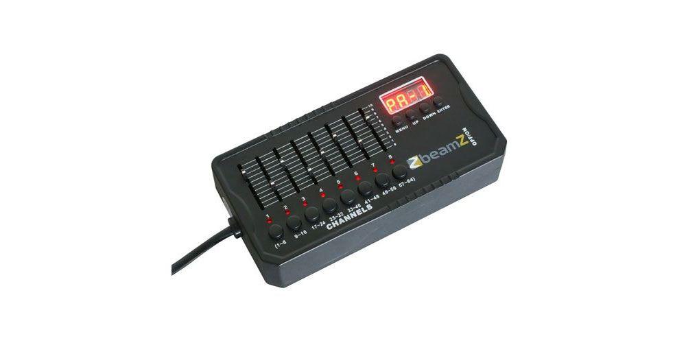 beamz 154065 dmx 512 mini controladora dmx