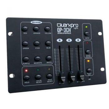 QUARKPRO QP3CH Controladora RGB 3 Canales DMX