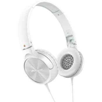 PIONEER SE-MJ522-W Auriculares Cerrados Blancos