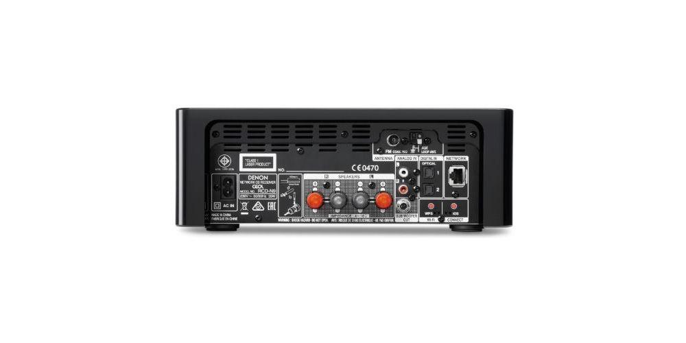 denon dra n9 ceol n9 panel trasero conexiones