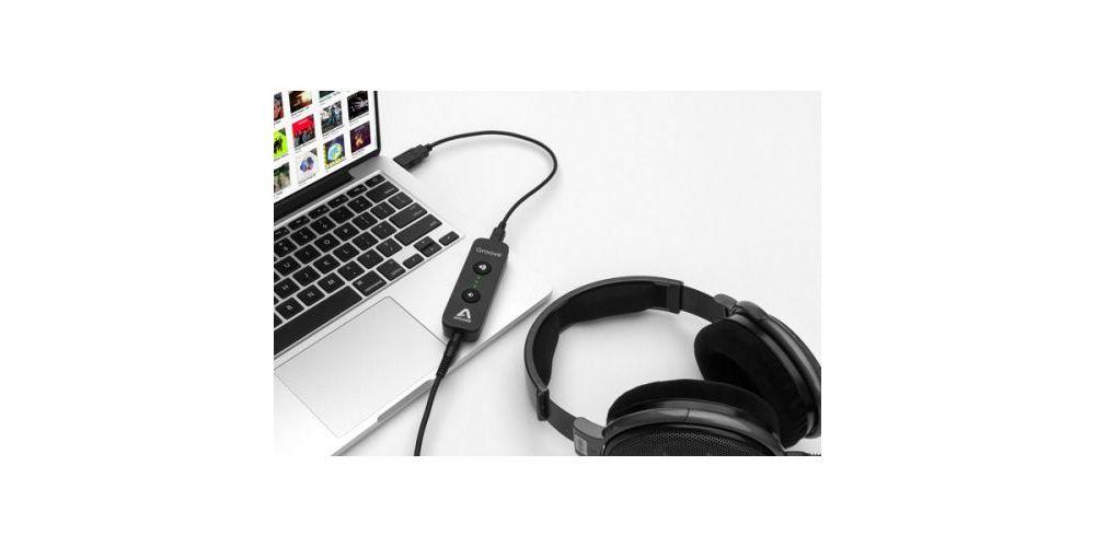 apogee groove interface auricular conexion