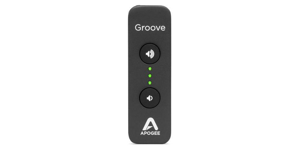 apogee groove interface auricular