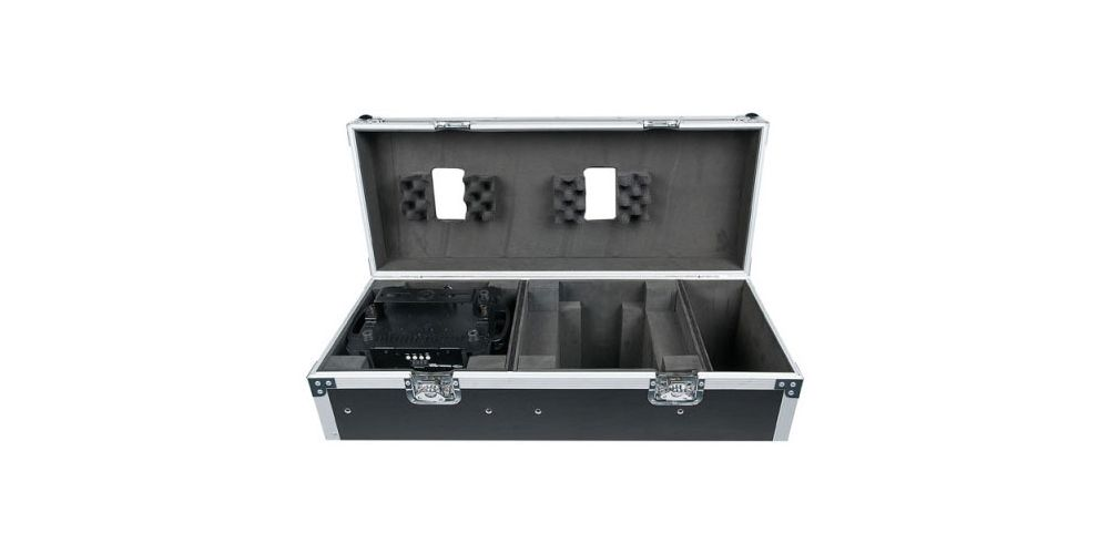 dap audio case for 2x phantom 75 beam spot or 2x phantom 95 d7476 open
