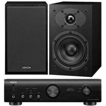 DENON PMA-520 Black+ SCM40 Black