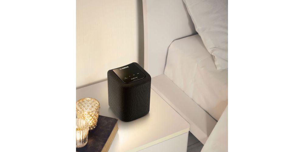 yamaha wx10 musiccast wifi bluetooth negro altavoz pequeño