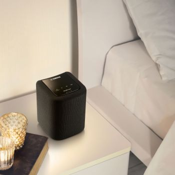 Yamaha  WX-10 BK Altavoz Wifi, Bluetooth, Dispositivo Musiccast WX10 Negro