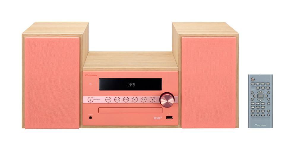 pioneer x cm56d r rosa vertical
