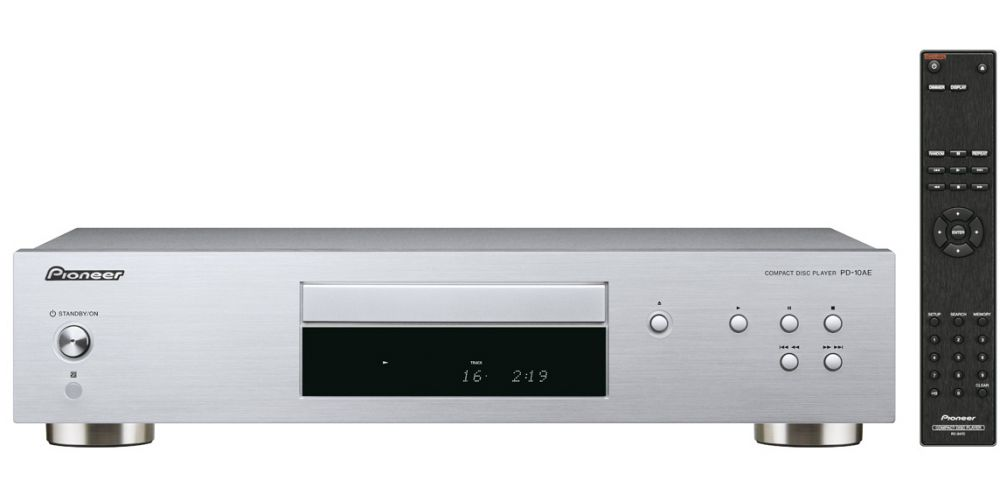 pioneer pd 10ae black compact disc