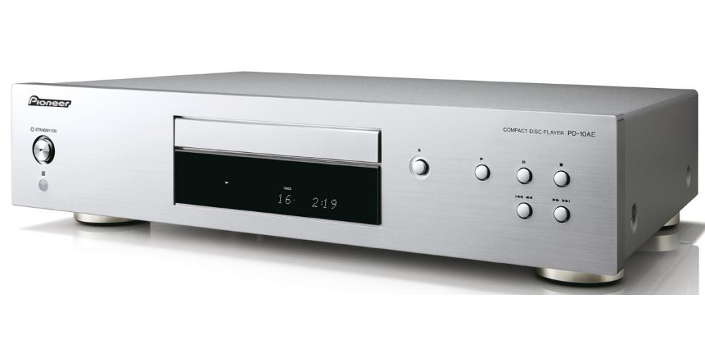 pioneer pd 10ae compact disc silver