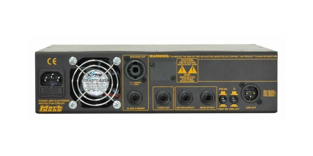 markbass little mark 800 trasera