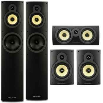 Pioneer VSX-1131-BK+Wharfedale Crystal 4 Systems
