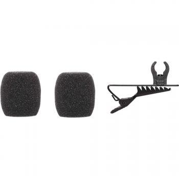 SHURE Kit para CVL con pinza clip y 2 paravientos