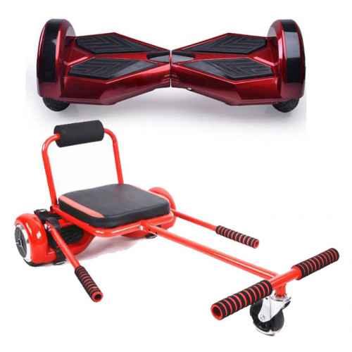 patin 8 rojo sillin